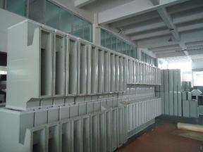 中瑞机制双面彩钢复合成品风管(无缝加工)