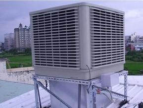 车间换气降温通风工程风管细节