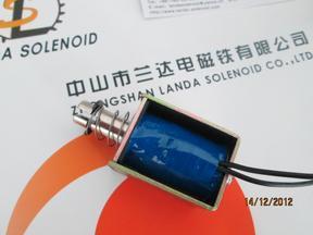 通电拉动式智能门锁用牵引电磁铁