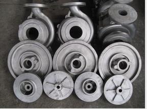 化工泵配件叶轮,泵盖,泵体
