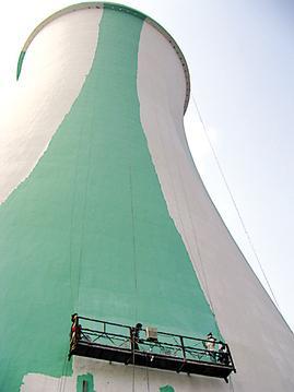 冷却塔粉刷涂料造价