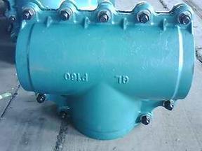DN110三通变径堵漏器
