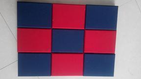 进口消音板布艺墙面玻纤吸音板