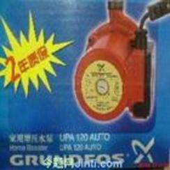 上海闸北区格兰富家用静音增压泵维修安装