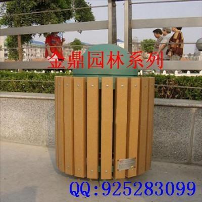 塑木环卫垃圾桶;;