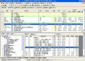 超人工程量清单与预算造价软件 海南2008版