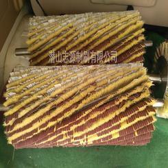 木工机械抛光毛刷辊 家具抛光机配件毛刷 剑麻砂布条毛刷