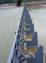钢结构闸门_衢州河川翻板闸门专业生产厂家