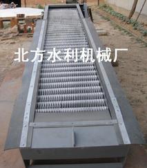 回转式清污机水工金属结构生产许可证-新河县北方水利机械厂