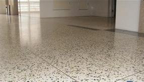 防静电水磨石地板
