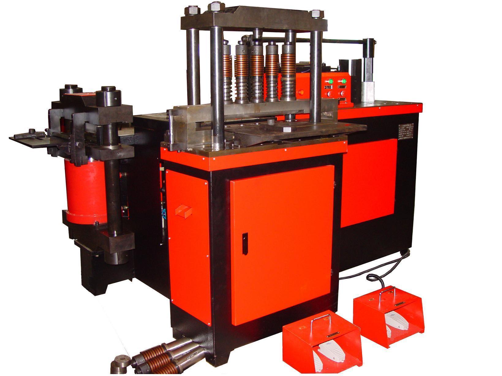 kjw303-t三工位液压母线加工机图片