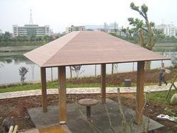 仿木,园林景观,绿化设施,仿木小品,仿木亭,亭棚廊架
