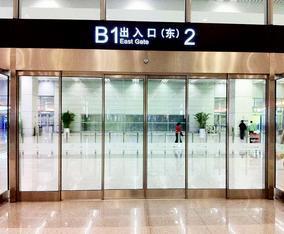 桂林自动门,桂林感应门,厂家安装
