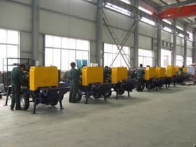 呼和浩特清水河新型绿色煤矿用混凝土泵,符合井下作业要求