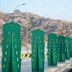 玻璃钢防眩板_高速公路防眩板