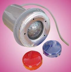 厂家供应游泳池池底照明设施、池底灯、水下灯、LED灯、七彩灯