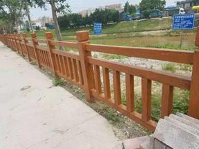 东莞仿木栏杆制作