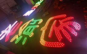 全彩LED外露发光字灯串