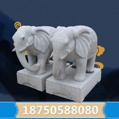 招财小象石雕 高端品质 惠安石雕厂家直销  货期保障