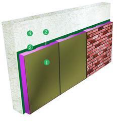 外墙挂板\文化石\墙体保温