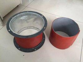 硅酸钛金不燃软风管