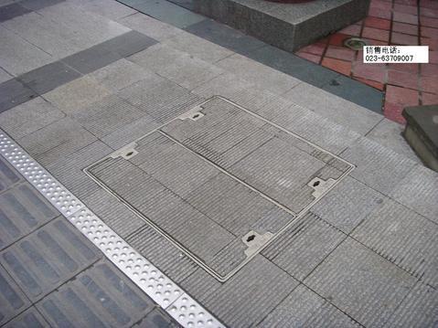 详情介绍        本产品为复合材料铺砖井盖850*850轻型(下沉式井盖图片