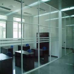 石家庄办公桌隔断制作办公室隔断装修
