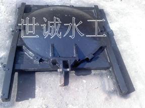 附壁式铸铁闸门附壁式铸铁镶铜圆闸门