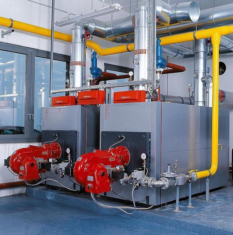德国菲斯曼模块式燃油燃气热水锅炉 山东总代理青岛圣火供暖