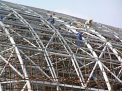 飞机场钢结构网架防腐工程公司