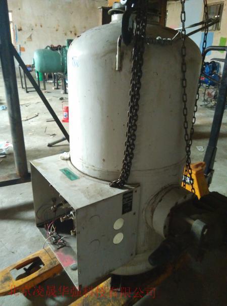 二手顿汉布什螺杆压缩机电机烧毁处理耐氟电机维修