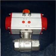 动2PC球阀,气动二片式球阀,Q611F-16P