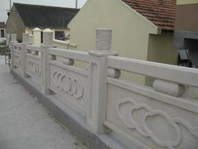 驰升仿木栏杆、铸造石栏杆
