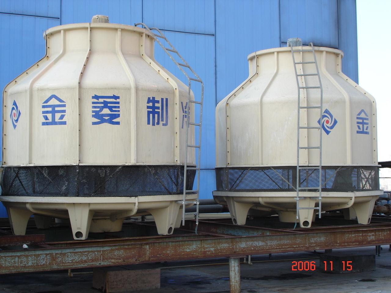 逆流式圆型冷却塔