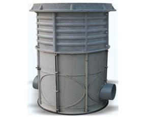 威嘉SMC玻璃钢整体检查井,污水检查井