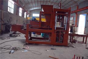 庆中机械透水砖机、面包砖机