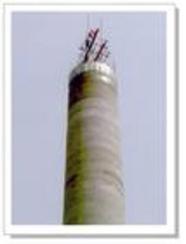 混凝土烟囱滑模砌筑60-160m烟囱(混凝土烟囱新建)专业公司