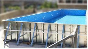 标准教学游泳池拆装式游泳池