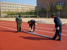 塑胶排球场、硅PU球场、人造草坪、地坪漆天津ZKJG
