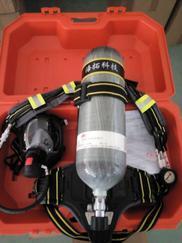 6.8L碳纤维瓶空气呼吸器 带检测报告