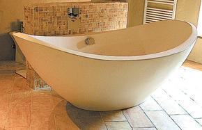 米黄色大理石浴缸MVS026