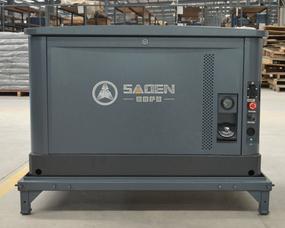 25KW静音汽油发电机警车车载应急用发电机