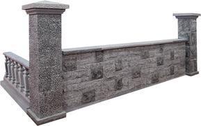 天青石围墙柱子FSBL-007