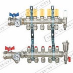 地暖分水器,整体锻造分水器,一体锻造分水器