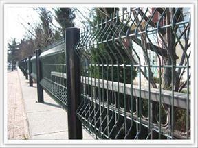 安平三角折弯护栏网铁丝网围栏浸塑护栏生产厂家