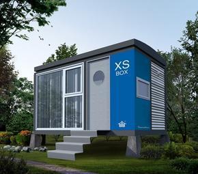 新型集装箱式木屋(活动房)