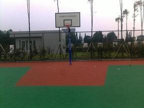 成都塑胶篮球场、羽毛球场建设