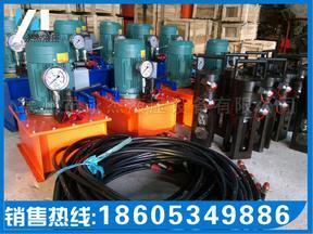 永杰带肋钢筋冷挤压机-北京建筑专用电动液压泵使用技巧