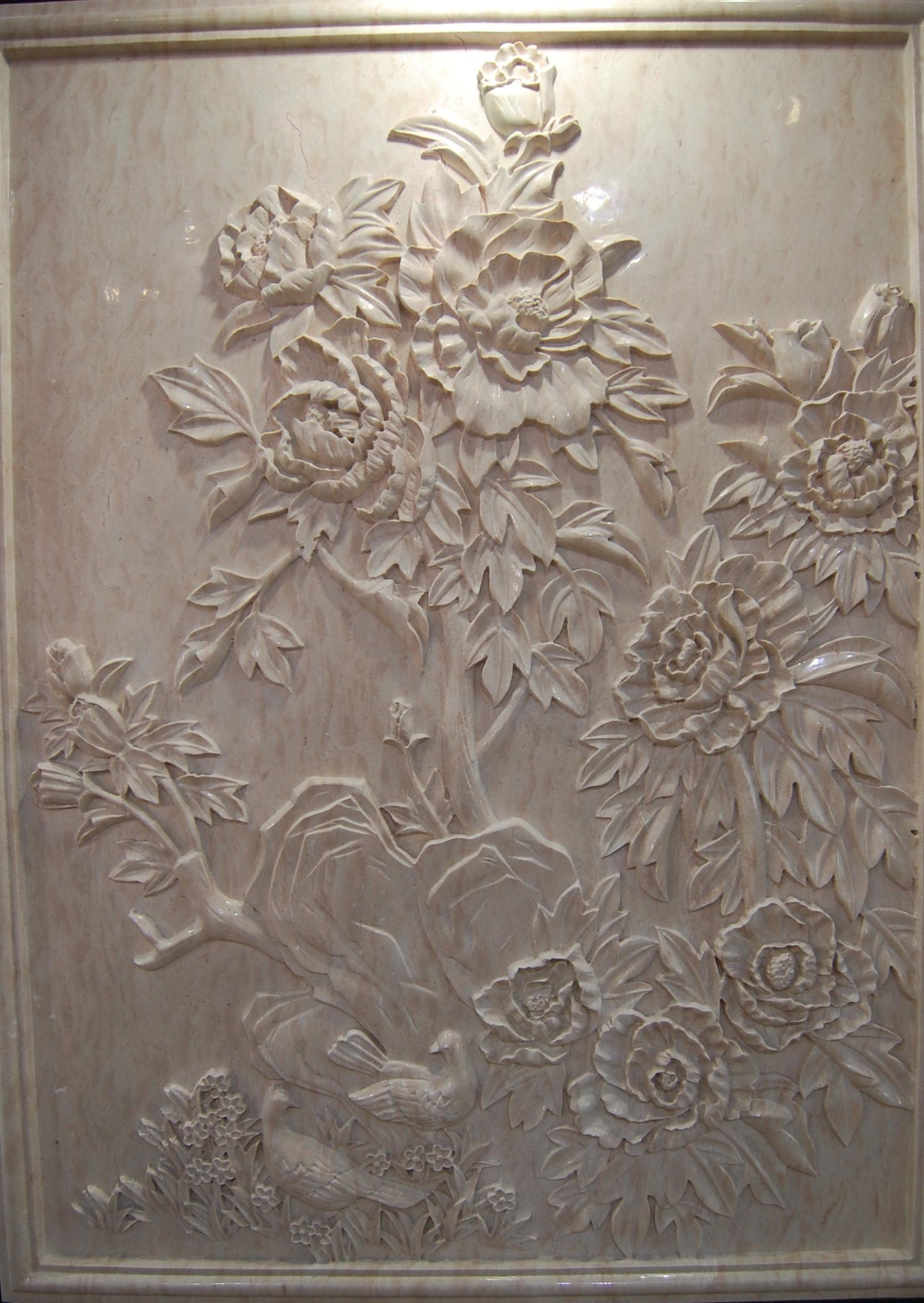 大理石雕花板fsmp-117
