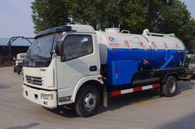 程力东风多利卡清洗吸污车